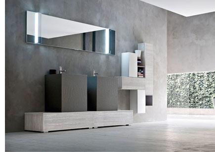 Arte bagno como milano monza brianza - Mobile bagno due lavabi ...